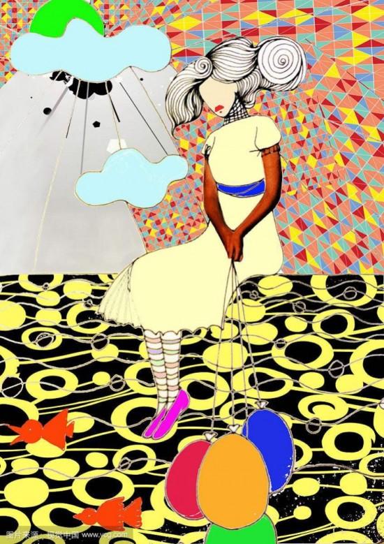 徐州创意画装饰画高级教师刘欣美愿画室招生中图片