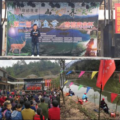 尊禧鹿业杯钓鱼节:通山生态旅游的新名片