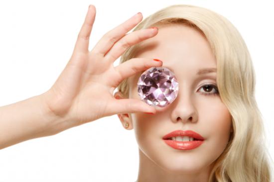 鉆石,完美皮膚管理的閃耀晶體