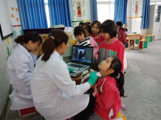 江津區第三人民醫院開展碘缺乏病篩查活動