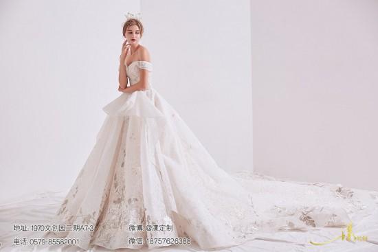 温州新娘怎样挑选婚纱 温州婚纱店推荐义乌漾定制