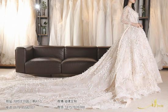 金华义乌高端婚纱店 义乌漾定制 婚纱款式万万千要怎样挑选