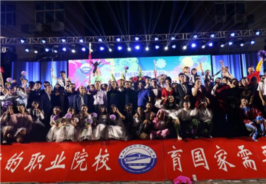 喜迎郑州城轨交通中等专业学校迎新晚会