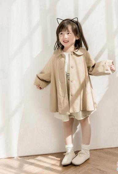 熊不乖童装2019春季新品自然时尚的森系清新风格