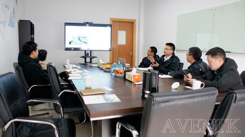国产UV胶水更受关注—-华为技术到访昀通科技(AVENTK)上海工厂