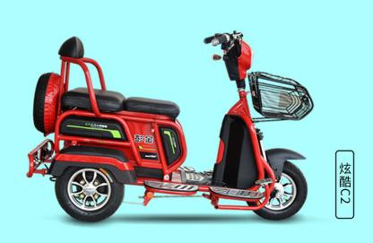 气温回升,金彭休闲型家用电动三轮车销量暴增