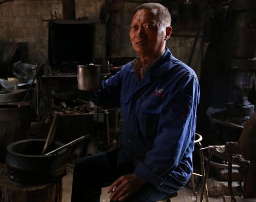 17岁学艺,历经19年千锤百炼一口锅,74岁的林柄元做到了极致