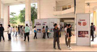 海大寸金学院与湛江市文化馆联合举办非遗图片展