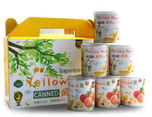 天同食品罐头经典黄桃:记忆中的味道