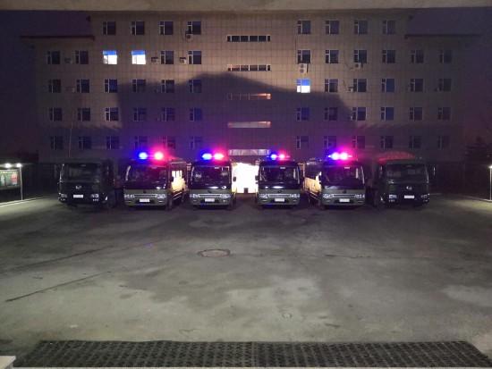 松花湖森林消防大队抓实车辆换季保养为春防战备保驾护航