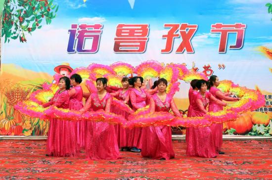 """新疆若羌县各族群众欢庆诺鲁孜节・""""我们的耕种节"""""""