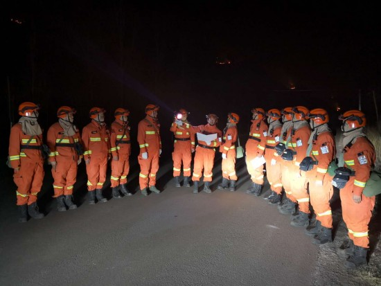 神兵天降:赤峰市森林消防支队紧急驰援山西沁源火灾