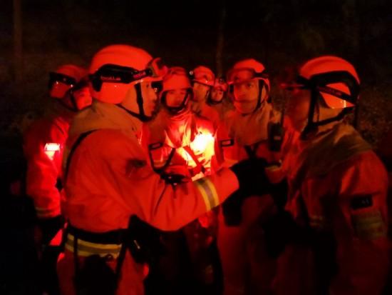 松花湖森林消防大隊北京市平谷區援外滅火首戰告捷