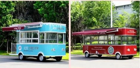 創業第一步,從選擇金彭電動四輪移動餐車開始
