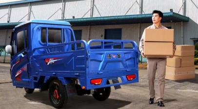 快递三轮车成为两会焦点 金彭为快递物流保驾护航