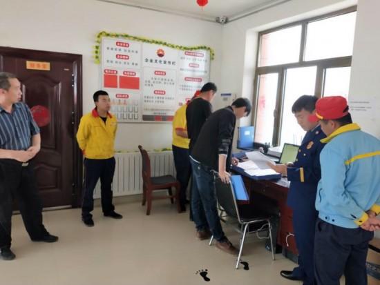 阿拉善消防支队联合多部门对易燃易爆场所开展消防安全检查