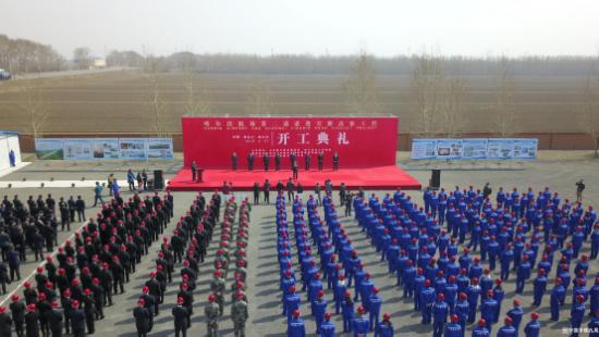 中鐵九局承建哈機場第二通道迎賓路高架工程開工