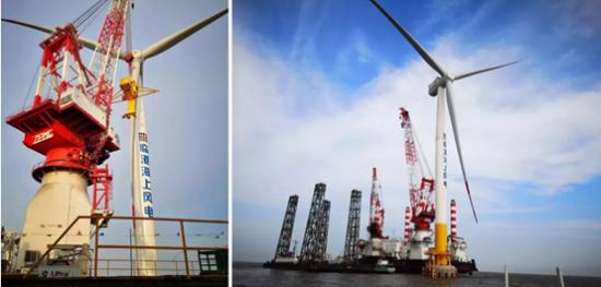 智慧能源助力中国刷新全球最大叶轮直径海上风机新纪录