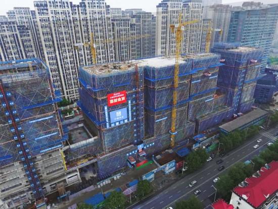 工程通讯:矗立太湖 筑梦远航—无锡金融港项目结构封顶纪实