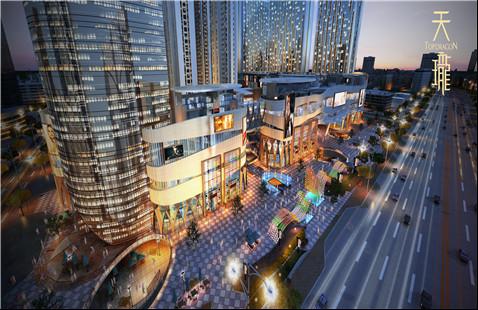 天珑广场:高端办公写字楼的首选