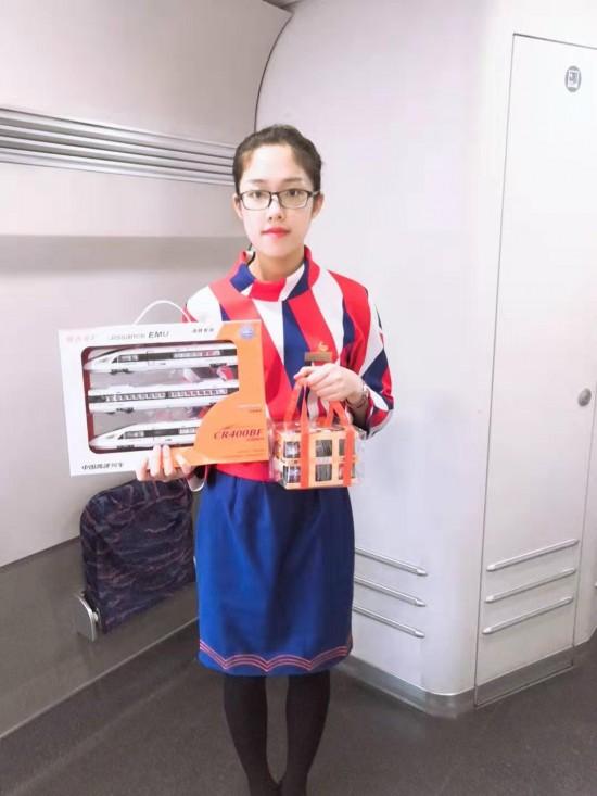 青島高鐵餐飲管理公司將竭誠為旅客們服務