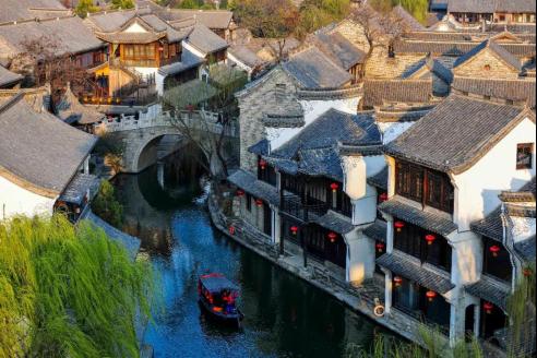 邂逅山東省10個最美古村落之臺兒莊古城