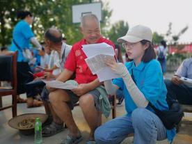 河南高校学子深入农村,法律援助惠民生,产销帮扶助发展