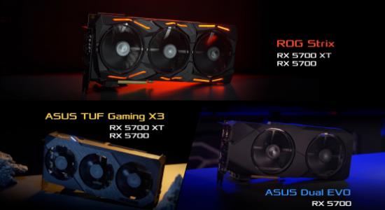 华硕RX 5700非公版卡即将开卖. 专为提供优秀散热能效