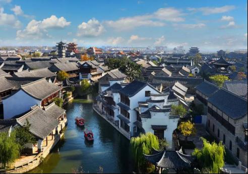 江北台儿庄古城,一座被时光岁月镌刻出来的小镇!