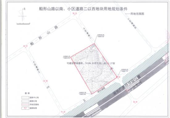 湘潭经开区优质地块推介-船形山路以南地块