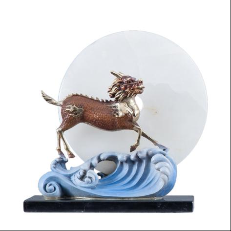 借助铜工艺品摆件,东方师傅家居饰品将艺术融入生活