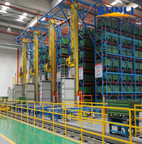 """顺力智能物流:自动化立体库实现了企业仓库的""""动态储存"""""""