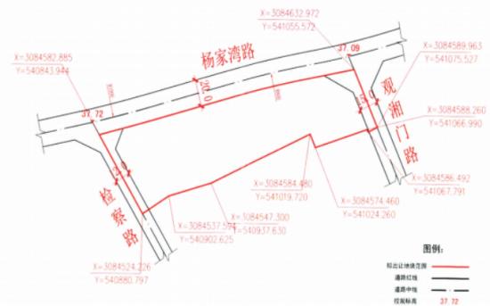 湘潭市自然资源和规划局供地信息-杨家湾交汇处地块