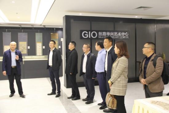 清镇市政府主要领导一行访问华兴控股集团并签署战略合作协议
