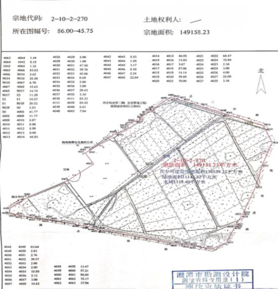 湘潭市岳塘区优质地块推介——四大桥东储备土地
