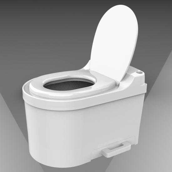 非水冲式生物降解厕所—ECO环保无水免冲智慧生态厕所