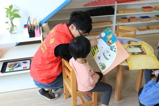 """中建二局華南公司直營事業部黨總支志愿者為學齡前兒童開設""""建筑小課堂"""""""