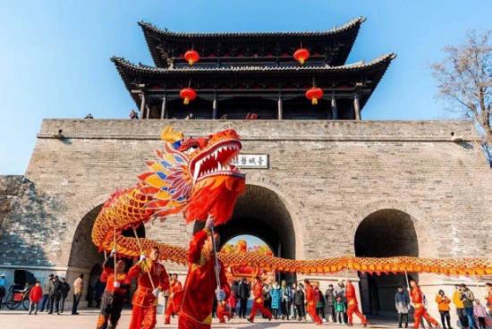 臺兒莊古城春節旅游給你一個最有年味兒的新年