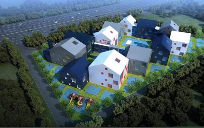 陕建一建集团第五公司西安高新第一幼儿园施工侧记