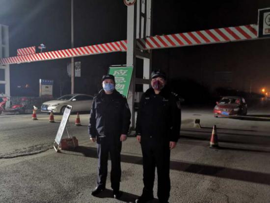 趙興華:疫情當前,警察不退