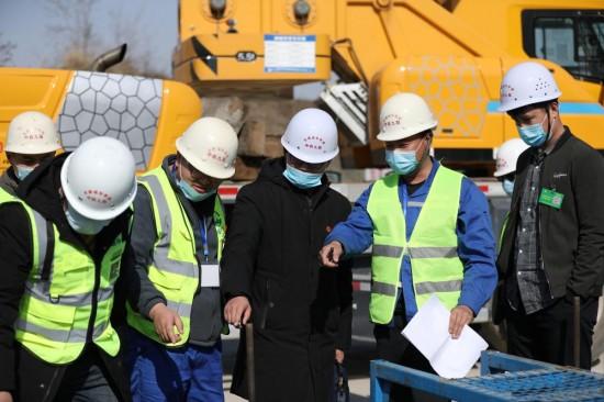 中铁九局二公司京雄项目CRTSⅢ型无砟轨道工艺性试验通过验收