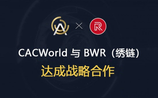 CACWorld文资链交易平台与BWR绣链达成战略合作