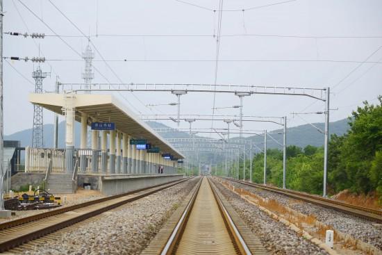 中鐵六局承建的京通鐵路一次開通四站
