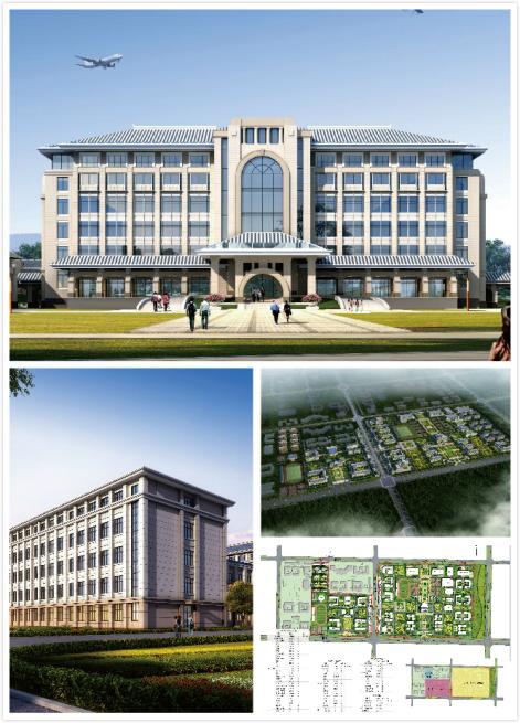 新疆西北航空航空技术学校,助力新疆职业v航空机构的建筑设计图片