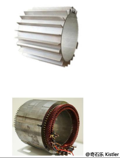 伺服壓機特點及應用-新能源電機裝配之定子外殼