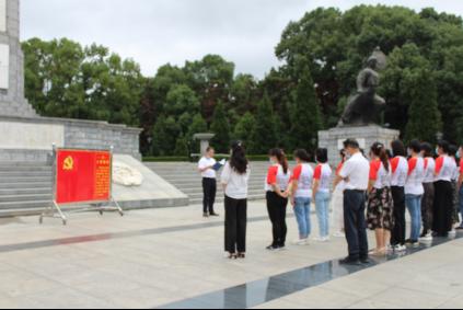 红安长林学校举办特色党日活动
