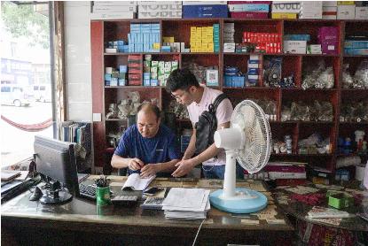 西科学子赴陕北探索米脂电商脱贫新模式