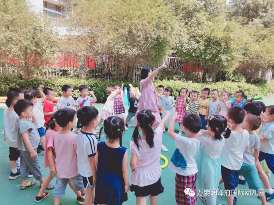 w88优德中文版澳海幼儿园:接纳和信任老师,是给老师最好的礼物!