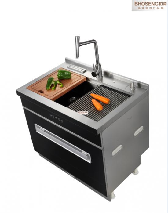 柏森集成水槽洗碗机系列荣耀上市!