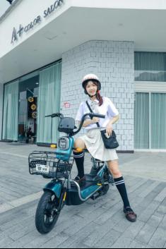 电动自行车品牌哪个好?绿源FEA实力圈粉时尚年轻一族